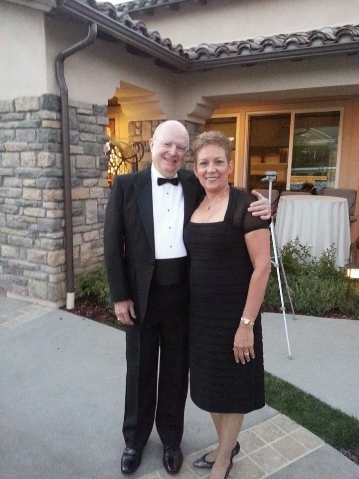 Husband-and-wife team Dan Olson and Doris Perez, Riverside Lyric Opera founding board members, at a fundraiser in 2013. The opera is raising money through a special Benefit Night performance Feb. 3 by Riverside Community Players.